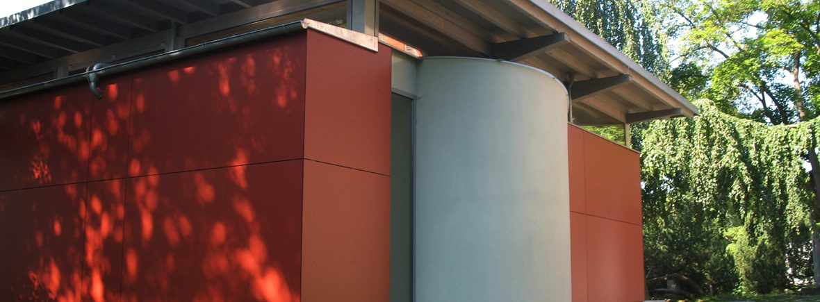 Gemeindehaus Bad Elster - Trespa Fassadenbekleidung