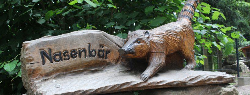 Sponsor der Amlage Rüsselsheim im Tierpark Hirschfeld