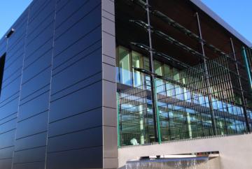 Stiebel Eltron Energy Campus - Clipkassetten Alumiumfassade