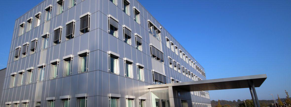 Numerik Jena GmbH -Fassadenbekleidung Aluminium - Metallfassaden