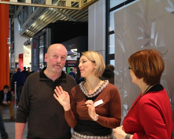 Bau 2017 München Gespräch mit Novelis