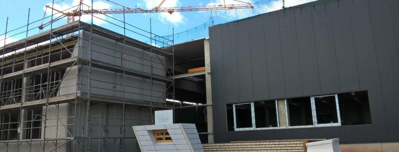 GPP Richtfest Aluverbund-Fassade