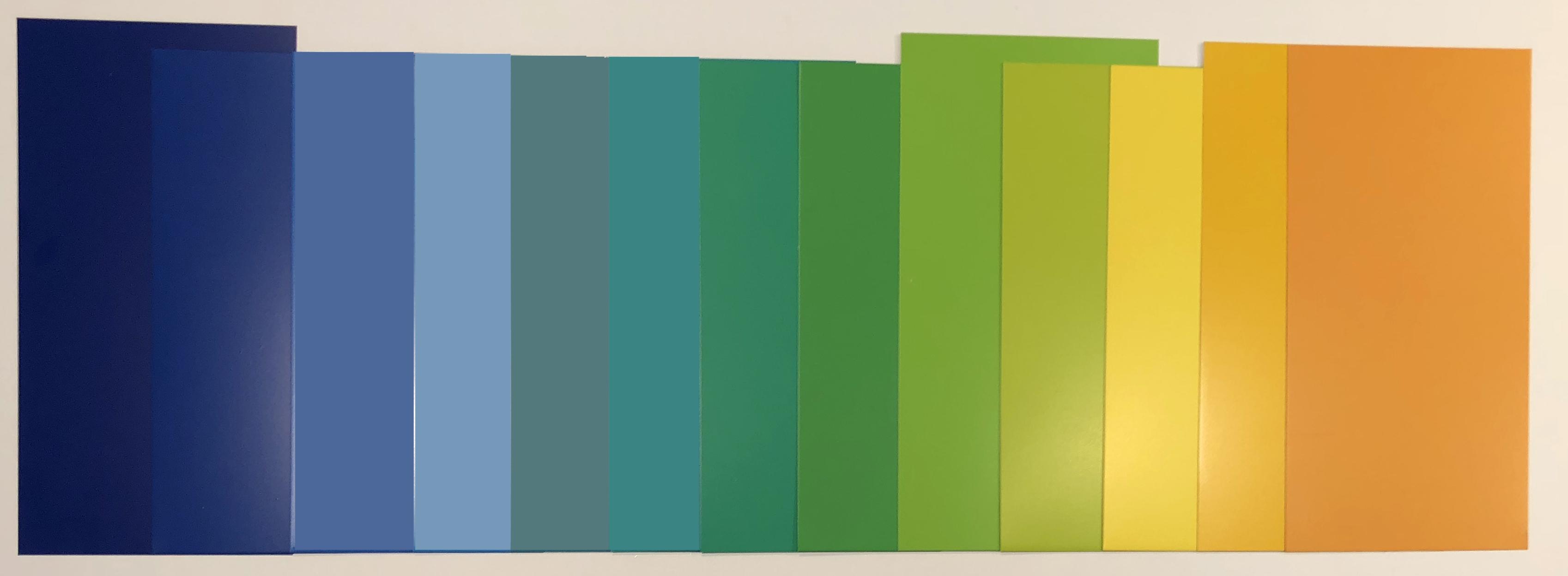 Farbspektrum der Reynobond Fassade