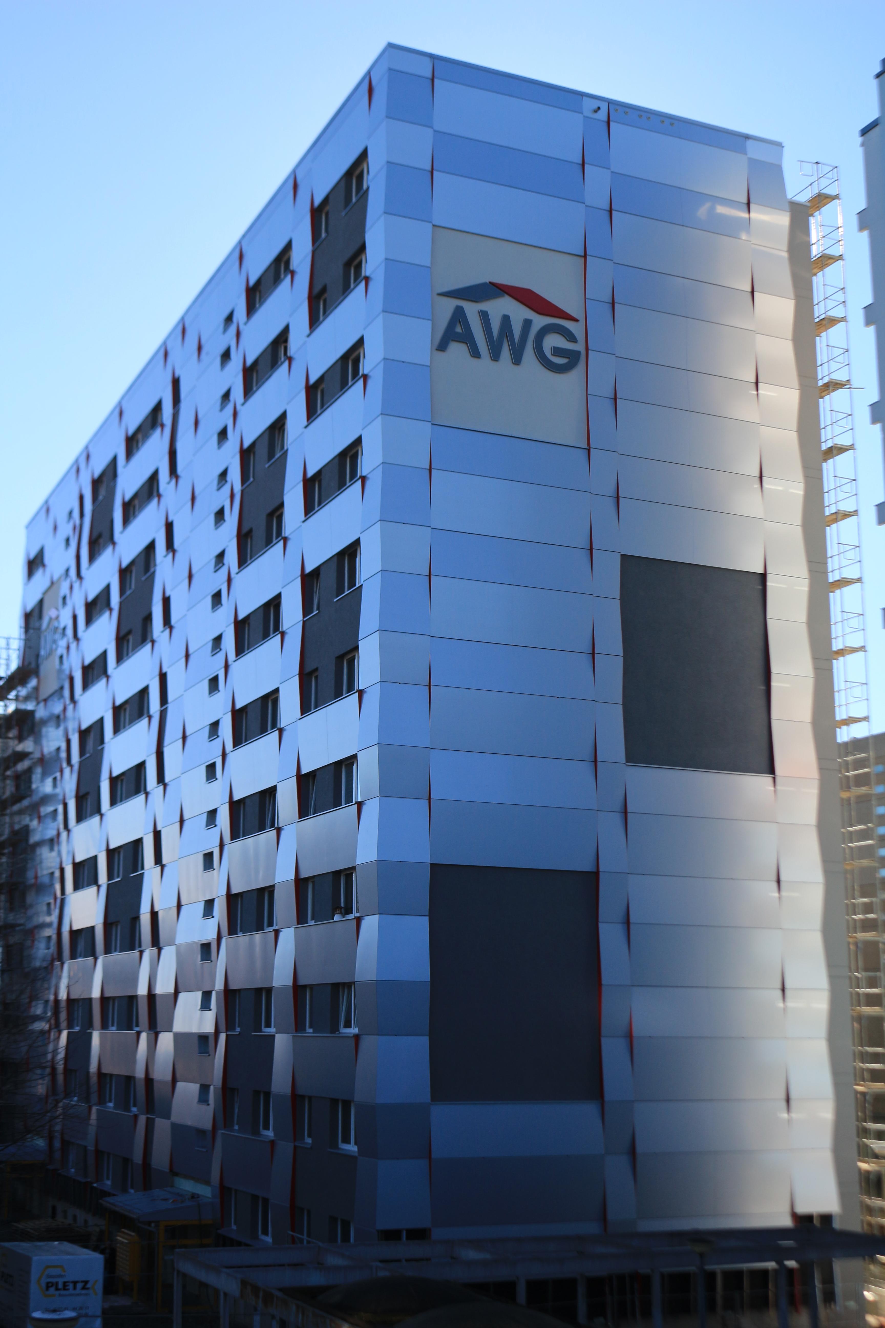 Fassadensanierung AWG