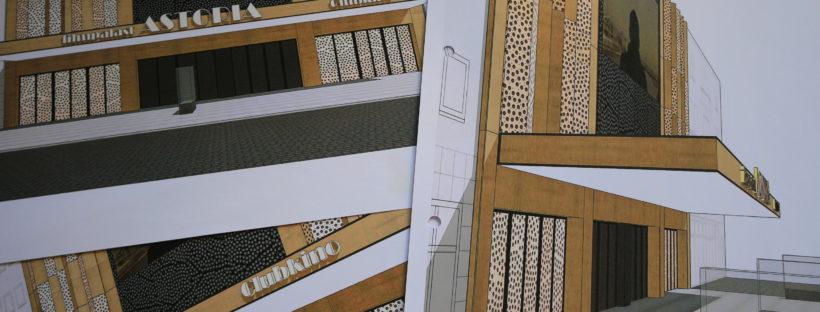 Astoria Filmpalast Zwickau Entwurf